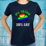 0 Irish 100 Gay T-Shirt