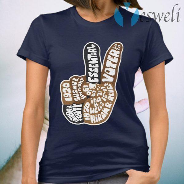 195Essential Merch Essential Voter 2020 T-Shirt
