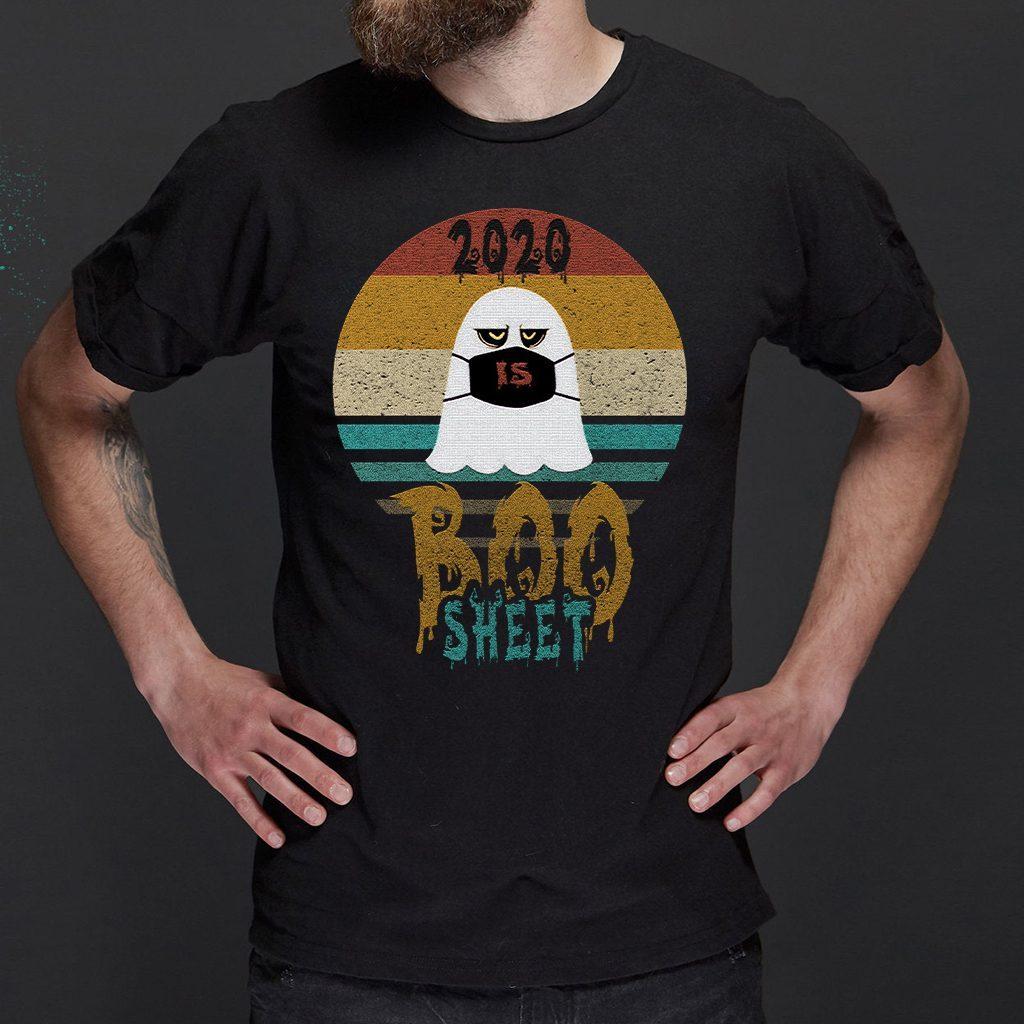 2020 is boo sheet vintage retro T-Shirts