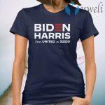 Biden Harris Text United To 30330 T-Shirt