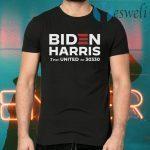 Biden Harris Text United To 30330 T-Shirts
