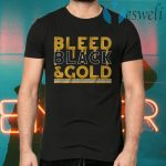 Bleed black and gold T-Shirts