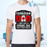 Canadian Dad just like a normal Dad except much cooler T-Shirts