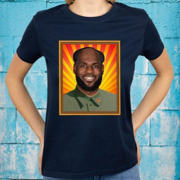 Chairman Lebron Mao T-Shirts