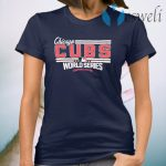 Chicago CUBS MLB 2016 world series T-Shirt