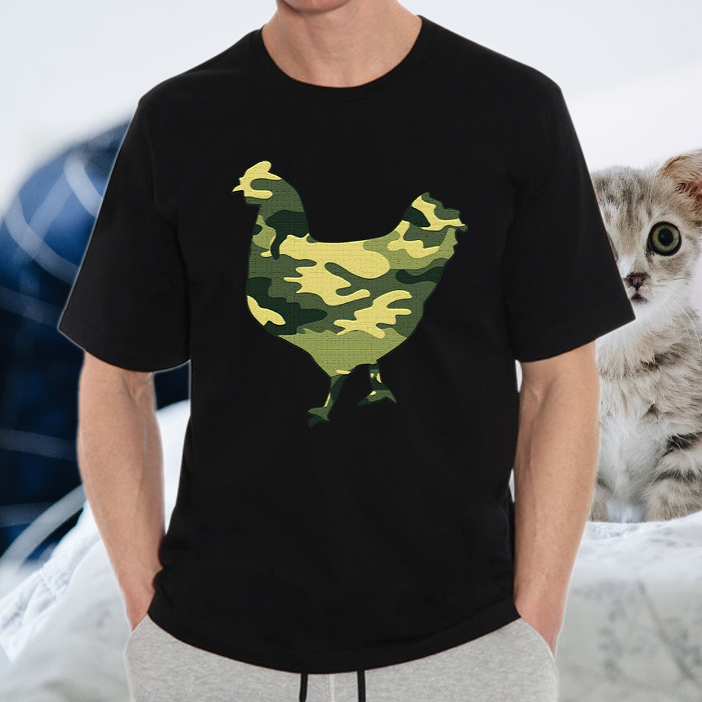 Chicken Camo T-Shirts