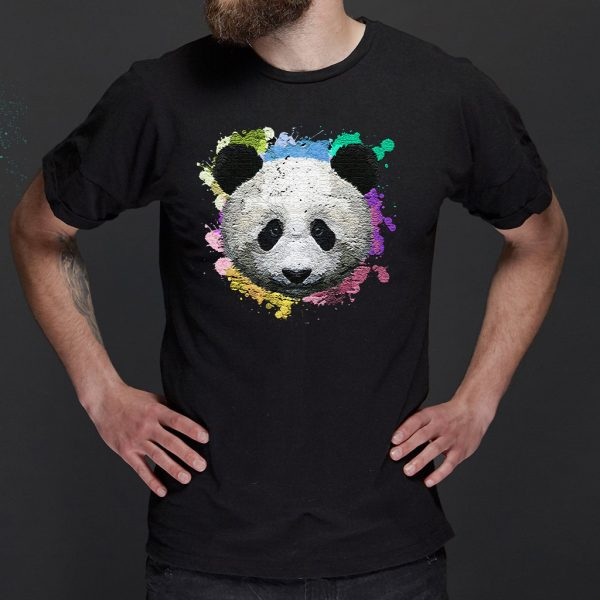 Colorful Panda T-Shirt