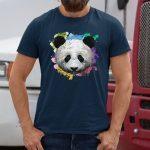 Colorful Panda T-Shirts
