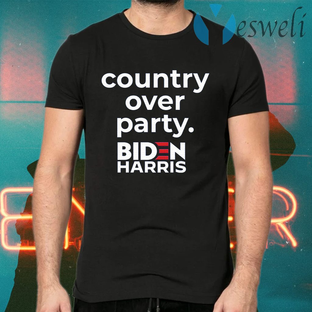 Country Over Party T-Shirts