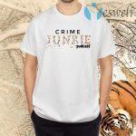 Crime Junkie Merch Pills Logo White T-Shirts