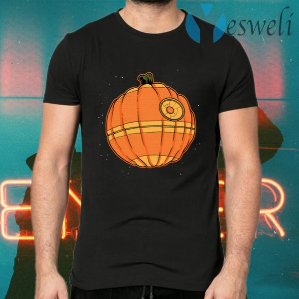 Death Star Pumpkin Star Wars Halloween T-Shirts