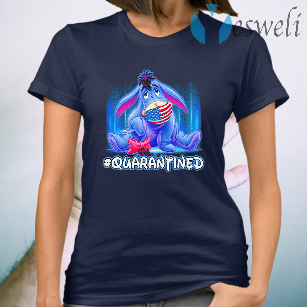Eeyore Disney America face mask #quarantined T-Shirt
