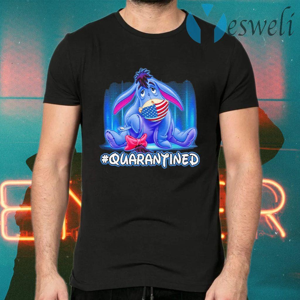 Eeyore Disney America face mask #quarantined T-Shirts