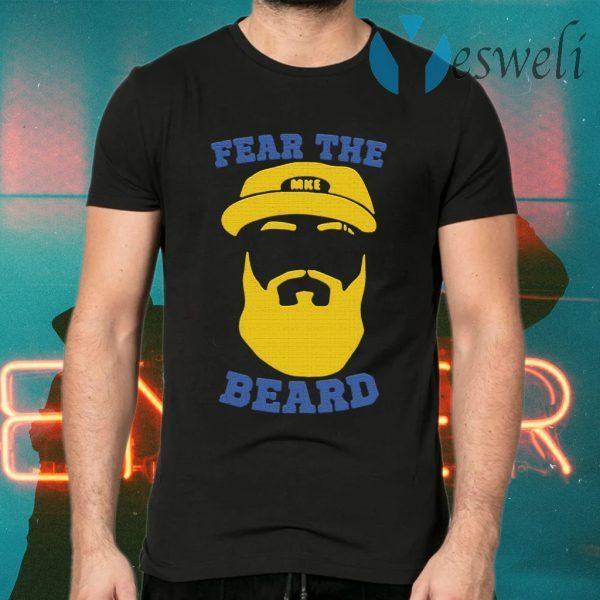 Eric Thames Fear The Beard T-Shirts