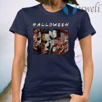 FRIENDS Halloween Horror Movies Killers T-Shirt