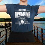 Heartbeat Drums Drumsticks Drummer T-Shirt
