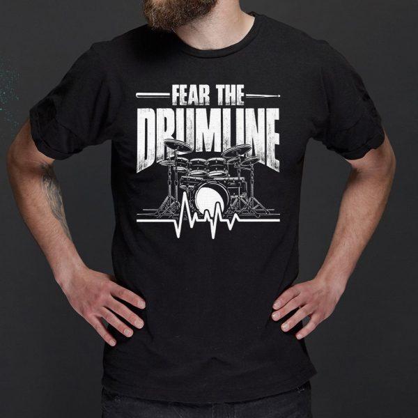 Heartbeat Drums Drumsticks Drummer T-Shirts