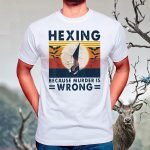 Hexing Because Murder Is Wrongs Vintage Classic T-Shirt
