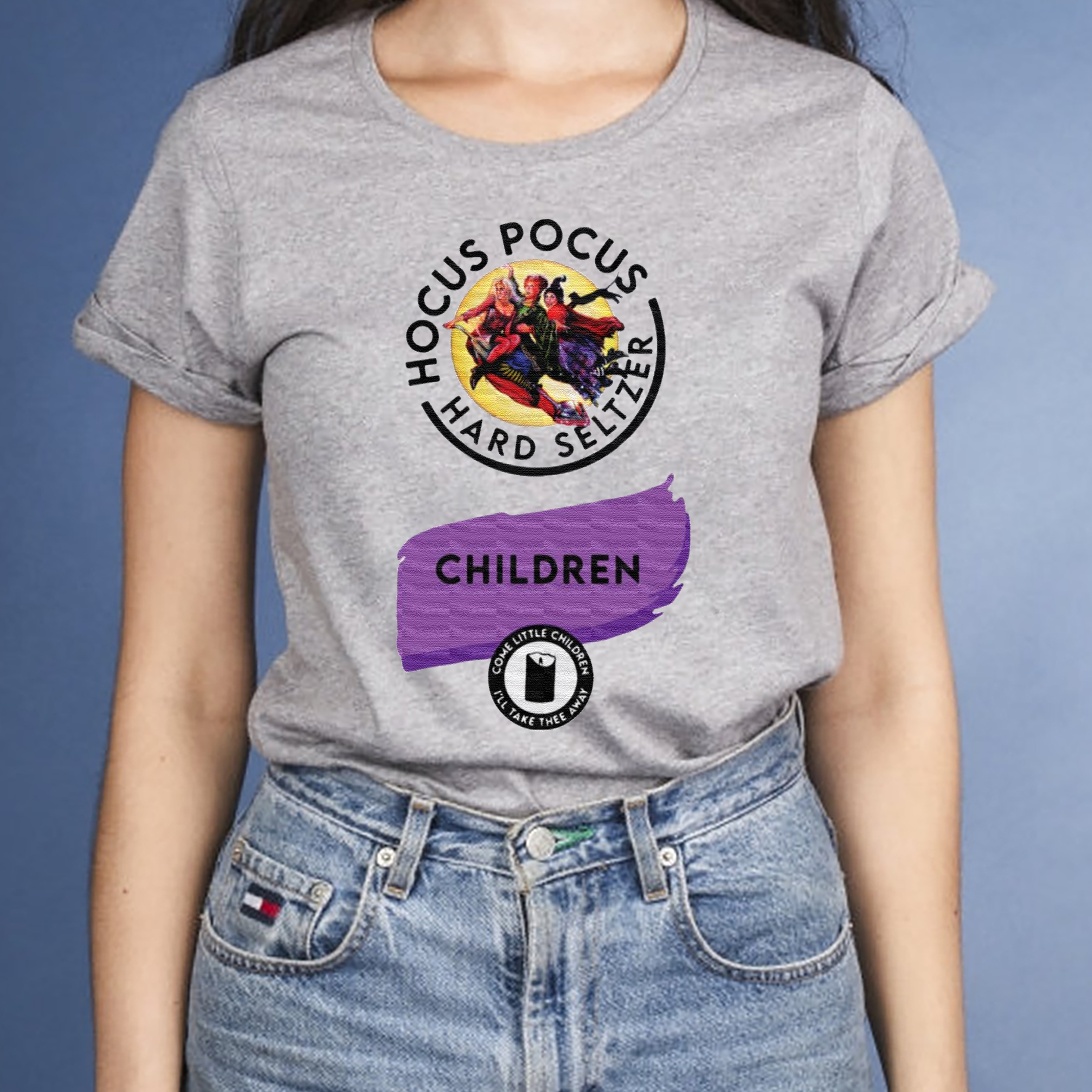 Hocus Pocus Hard Seltzer children come little children shirt