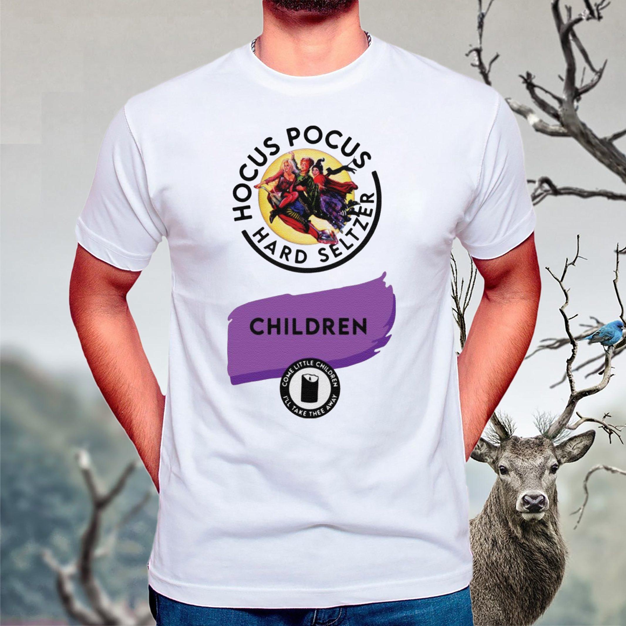 Hocus Pocus Hard Seltzer children come little children shirts