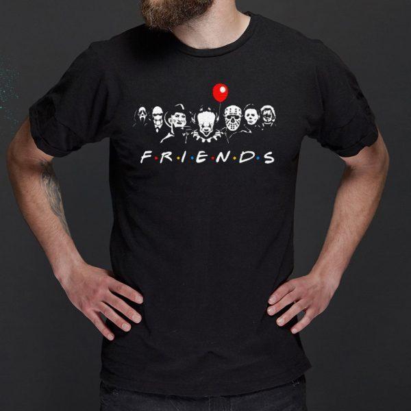 Horror Movie Killers Friends Halloween Shirt