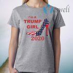 I'm A Trump Girl 2020 Shoe T-Shirt