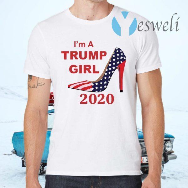 I'm A Trump Girl 2020 Shoe T-Shirts