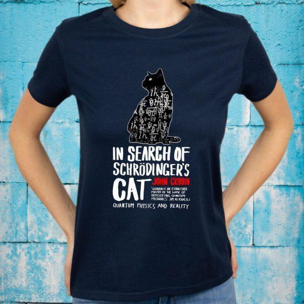 In Search Of Schrodinger's Cat John Gribbin T-Shirt