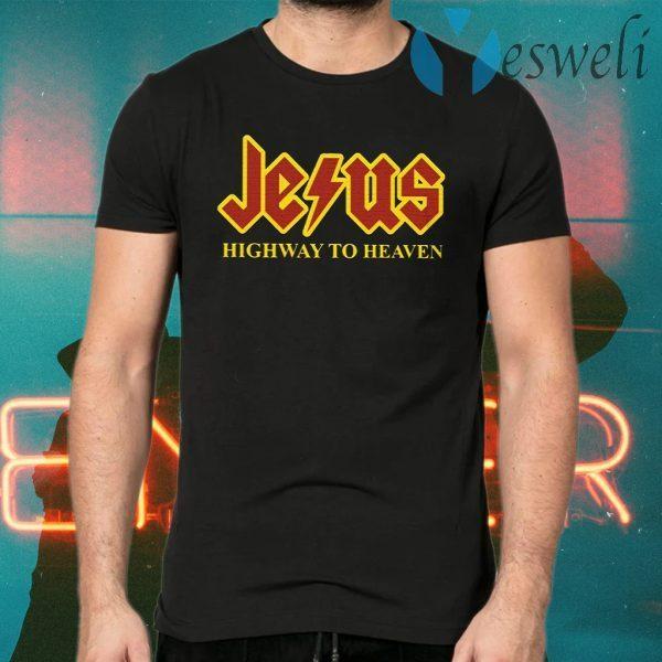 Jesus highway to heaven T-Shirts
