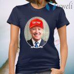Joe Biden Wearing Hat Trump T-Shirt