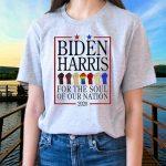 LGBT Joe Biden Kamala Harris 2020 for the soul of our nation Shirts