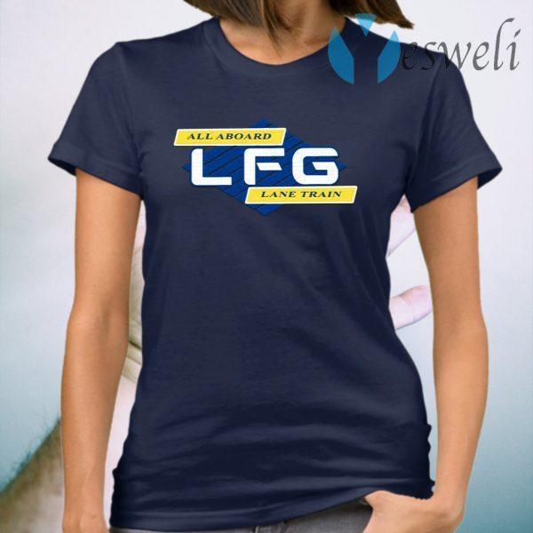 Lane Kiffin LFG All Aboard Lane Train T-Shirt