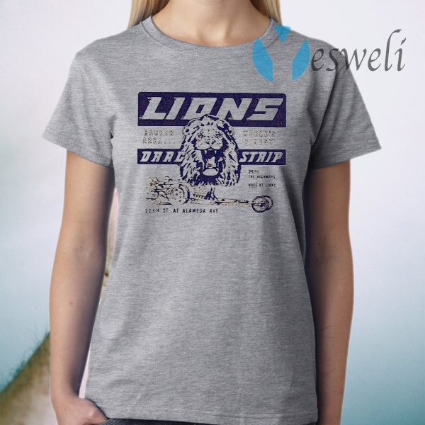 Lions Drag strip T-Shirt
