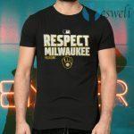 Milwaukee Brewers Respect Postseason 2020 MLB T-Shirts