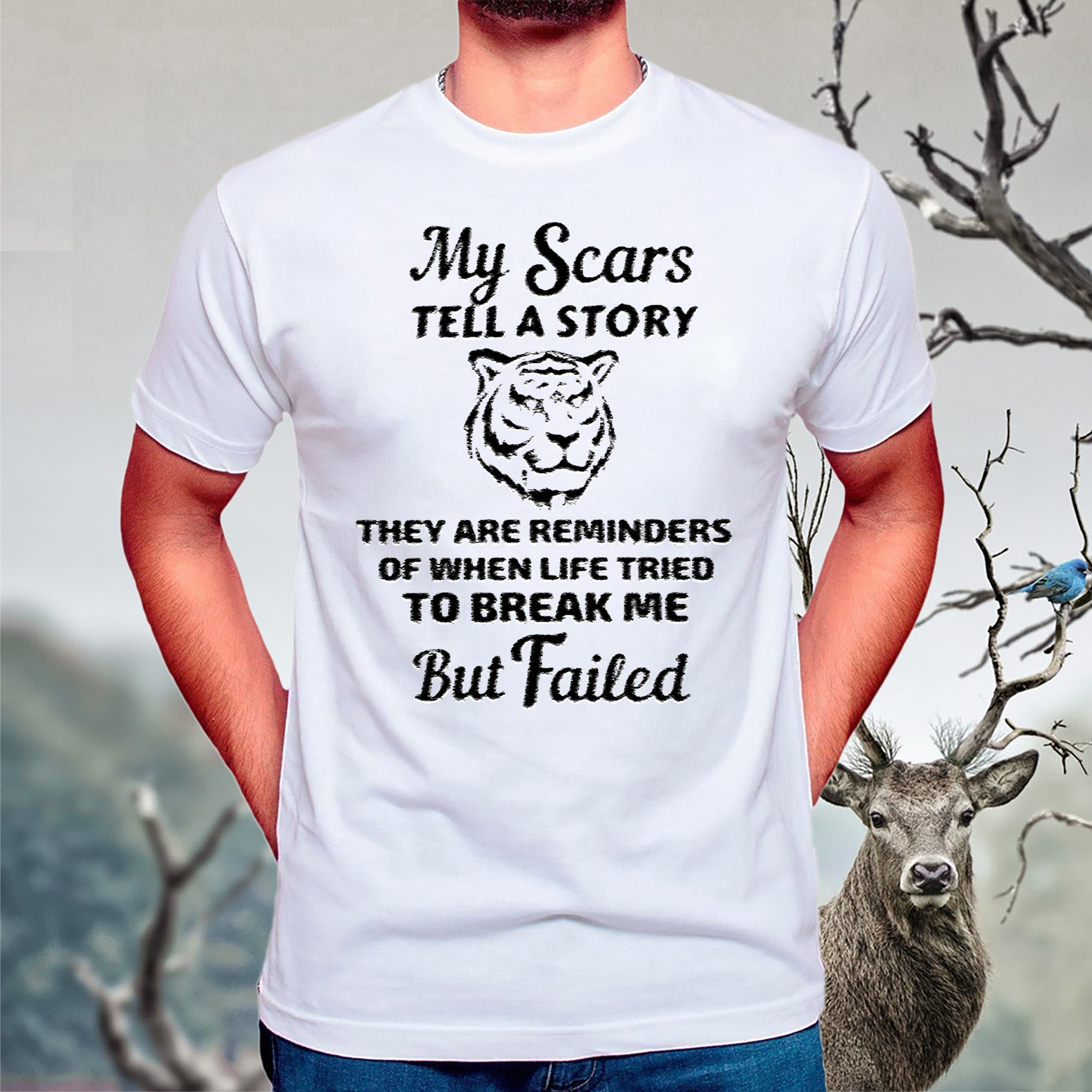 My Scars Tell A Story They Are Reminders Shirt