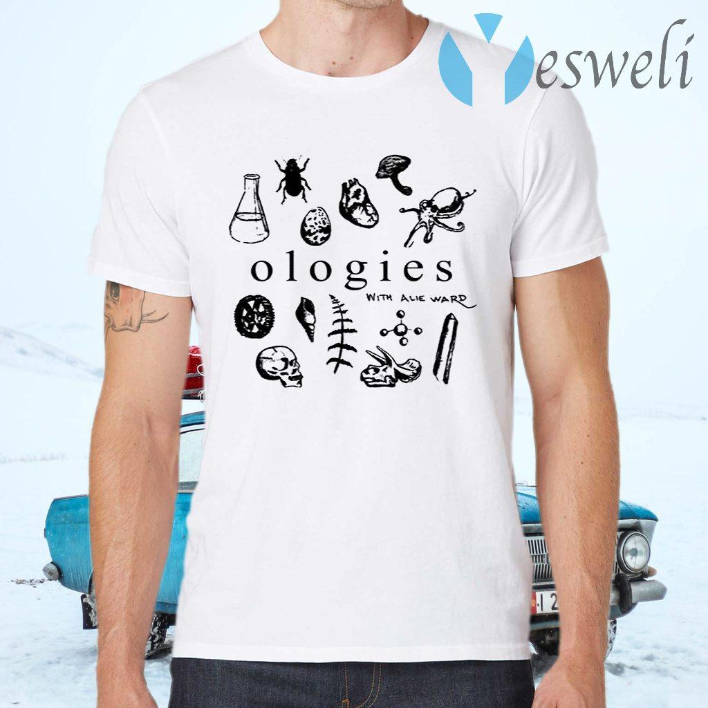 Ologies Merch Ologies Logo With Alie Ward T-Shirts