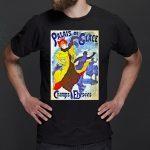 Palais de Glace by Cheret Art Nouveau T-Shirt