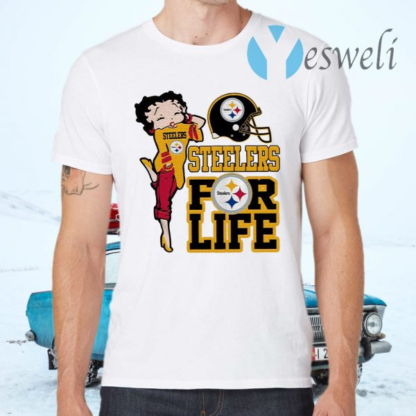 Pittsburgh Steelers Girl for life T-Shirts