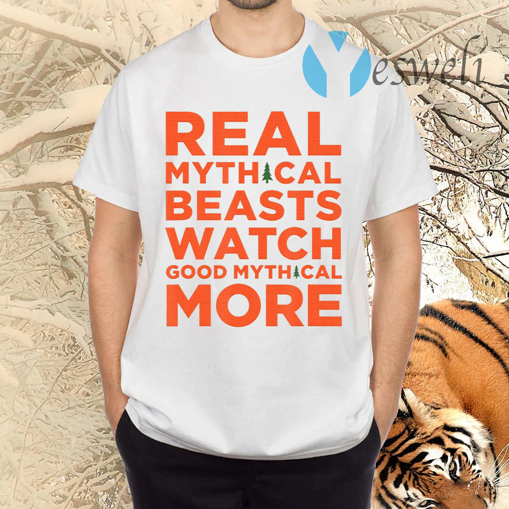 Real Mythical Beasts Watch Good Mythical More Retro TShirt