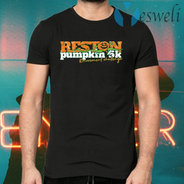 Reston Chamber Kicks Off Annual Pumpkin 5K and Movement Challenge T-Shirts