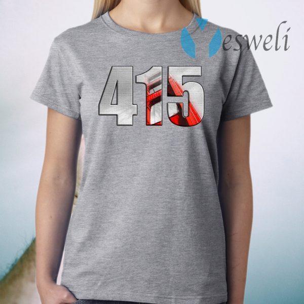San Francisco Bay Area 415 T-Shirt