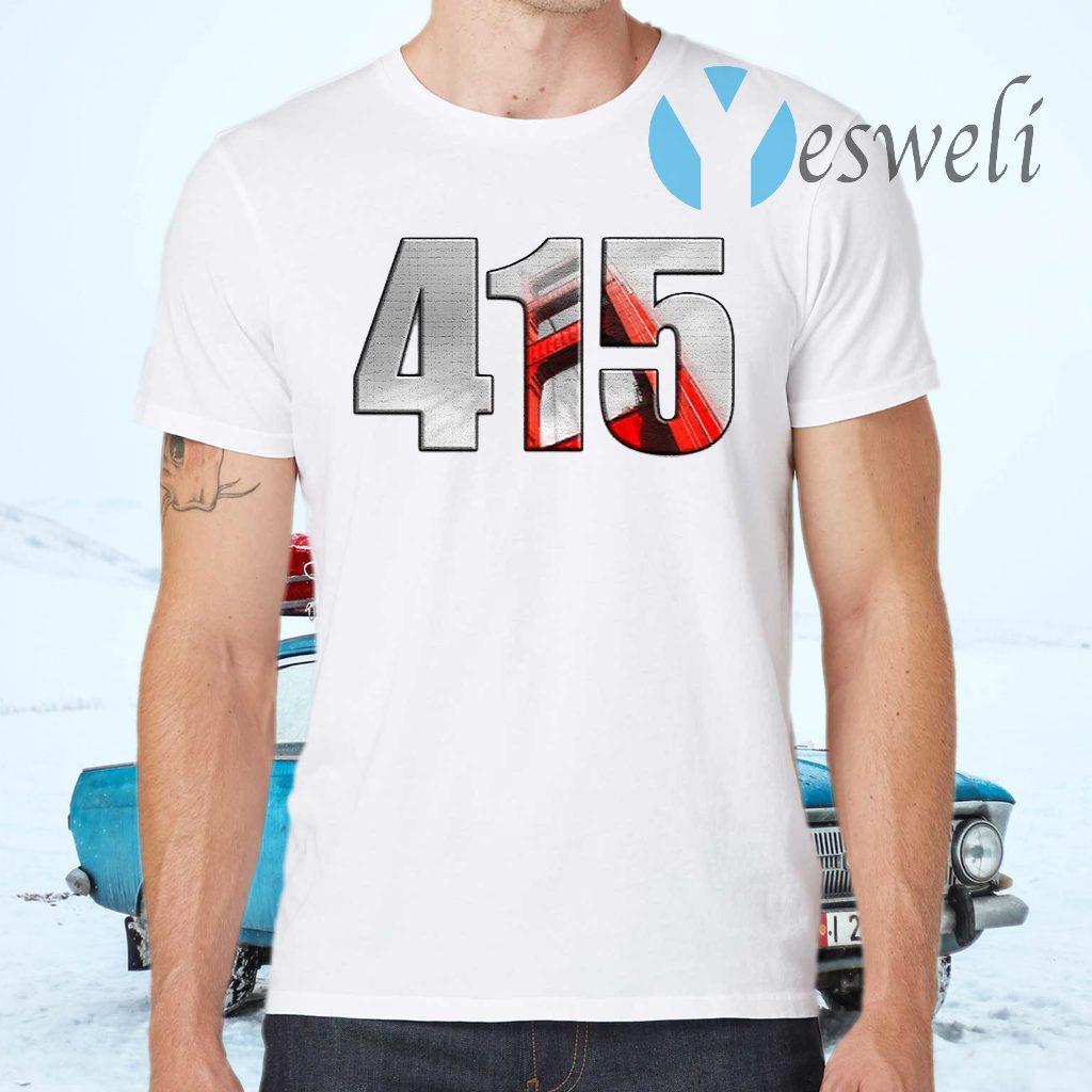 San Francisco Bay Area 415 T-Shirts
