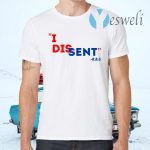 She Persisted Feminist Rbg Quote Tee I Dissent Rbg T-Shirts