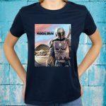 Star Wars The Mandalorian The Child Painting T-Shirt