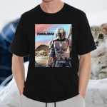 Star Wars The Mandalorian The Child Painting T-Shirts