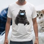 Sweet Racoon With Face Mask T-Shirts