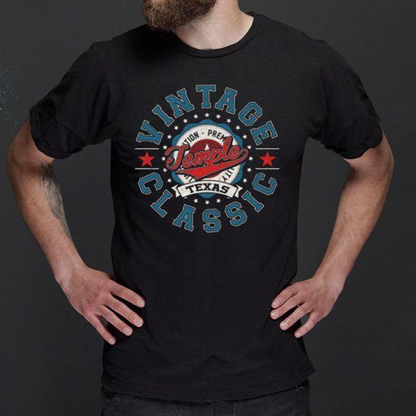 Temple Texas Retro Vintage Aesthetic Classic T-Shirt
