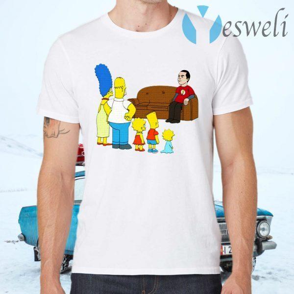 The Simpsons Sheldon Cooper T-Shirts