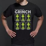 The many moods of Grinch Christmas t shirts