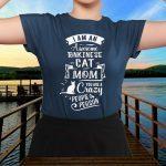 Tonkineses Cat Mom Funny Saying T-Shirt